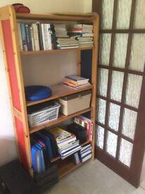 Sheloving/ Library shelves.