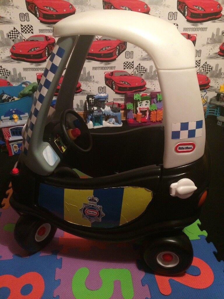 Little tyke police car
