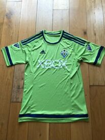 867badc4f3dd4e BRAND NEW - Seattle Sounders USA MLS Green Rare Adidas Home Football Shirt  Slim Fit -