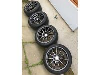 "Bola vst 18"" alloys with tyres"