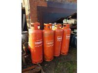 EMPTY 47Kg CALOR GAS BOTTLES - PROPANE x 4 available