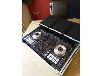 Pioneer ddj sx Controller with Magma flight case