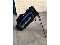 Taylormade golf bag with shoulder strap