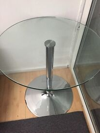 Glass table from John Lewis - REDUCED to clear - £25
