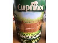 Cuprinol fence paint *brand new*