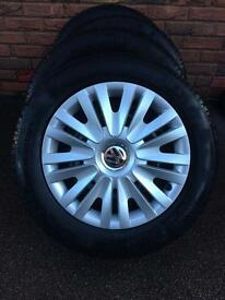 VW Winter Tyres Continental 195 65 R15