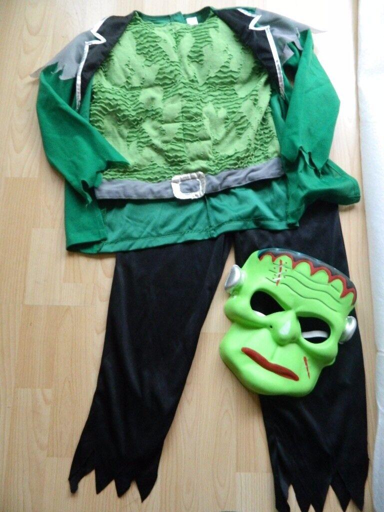 Boys Frankenstein Halloween costume fancy dress up 8-10 years