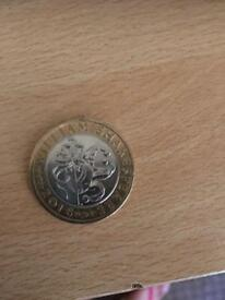 New 2 pound coin