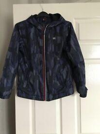 Boys lightweight zip jacket