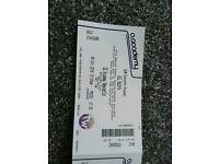 All Saints tickets x 3 October 6th 2016 cheap