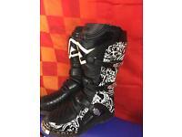 Kids motocross mx quad boots