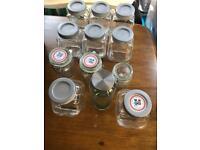 Sweet cart sweet jars candy kitchen storage ikea wedding parties