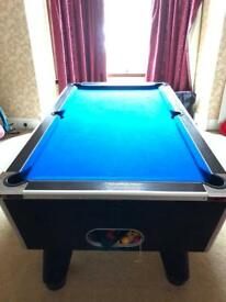 Omega challenger pool table