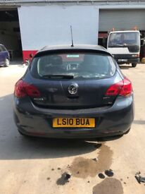 Vauxhall Astra, 2010, Needs new engine, Spares or repairs