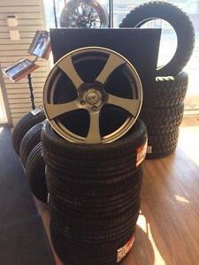 Ensemble de roues 19 pouces 5x114.3 avec pneus ! Prêt pour la route !