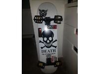 death skateboard