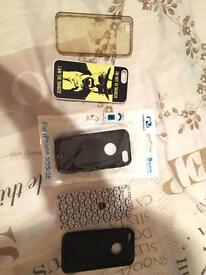 Selection of iPhone 5/5s/SE cases