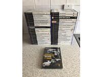 PLAYSTATION PS2 GAMES x 41 INC SEALED GETAWAY BLACK MONDAY