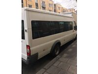 Minibus hire with a driver or self drive