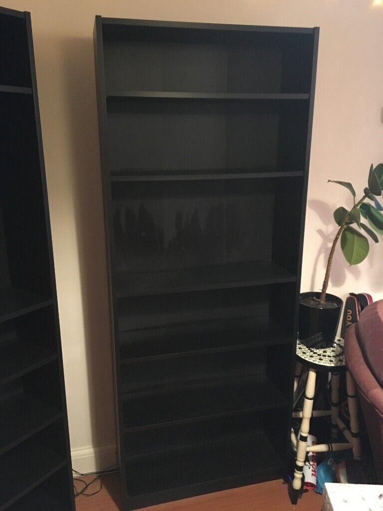 Ikea Billy Bookcase Black In Harpenden Hertfordshire