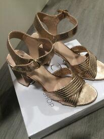 Topshop block heels size 6
