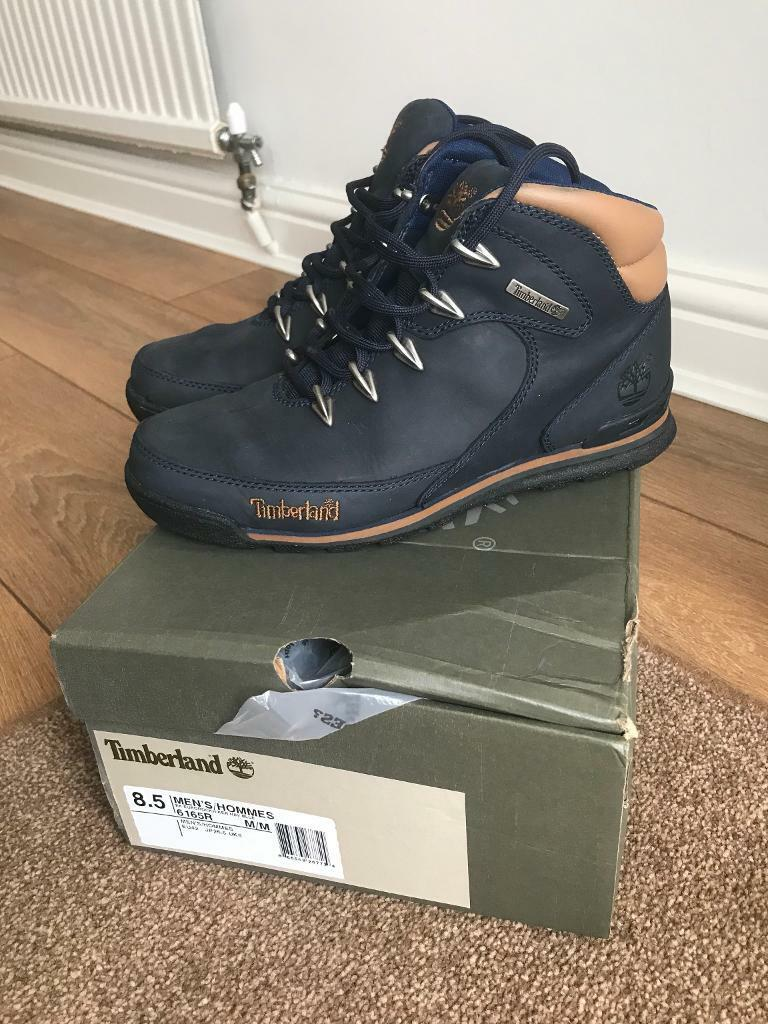 bc01ca7cc21 Men's timberland euro rock hiker size 8 navy | in Leicester, Leicestershire  | Gumtree