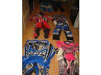 MOTO X AND QUAD BIKE CLOTHING