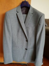 Light Grey Slim Fit Next Suit £30 ono