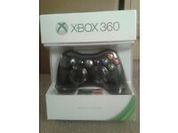 Official Xbox 360 Wireless Controller with Play and Charge Kit - brand new, unopened