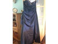 Bridesmaids dress midnight navy blue 18/20