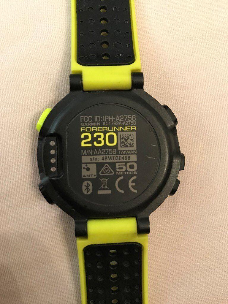Garmin Forerunner 230 Gps Watch In Dumbarton West
