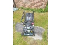 BMC petrol lawn mower for sale, fully working and in excellent condition