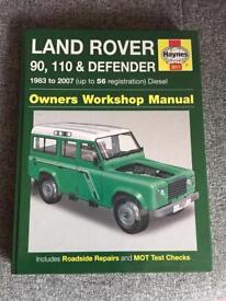 Land Rover Defender - Haynes manual