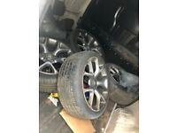 "Astra j vxr wheels 18"" X4"