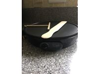 "Electric Pancake & Crepe Maker 12"" 1000 Watt"