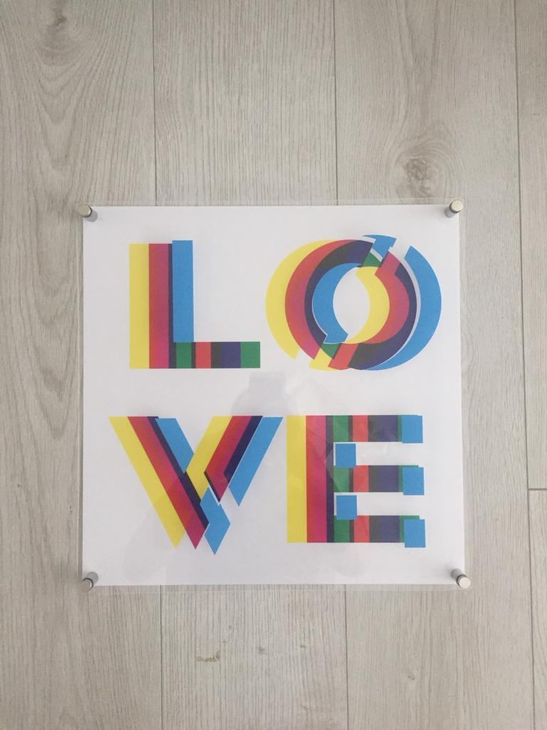 IKEA Myttinge LOVE Artwork Picture | in Bournemouth, Dorset | Gumtree
