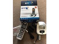 BT landline phone, big buttons, little used