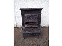 French antique stove