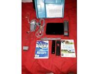 Wii black console bundle