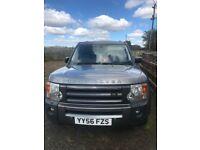 Land Rover 2.7 diesel auto selling as spears or repair
