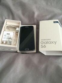 Samsung Galaxy s6 , good condition black , 32gb