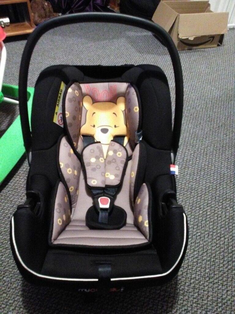 Winnie The Pooh Baby Car Seat