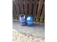 2 empty refillable gas bottles (normally £35 deposit)