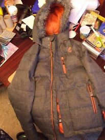 F & F activewear childs ski jacket age 13-14yrs
