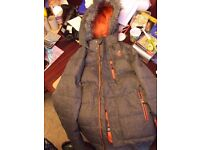 F & F activewear childs ski jacket age 13-14yrs