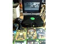 Xbox Original + 17 games