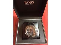 Hugo boss watch mint condition