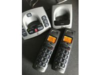Twin BT 750 Digital Telephones with Answering Machine (Price REDUCED)