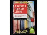 SUCCESSFUL PROPERTY LETTING BY DAVID LAWRENSON - BRAND NEW