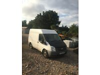Ford transit semi high roof